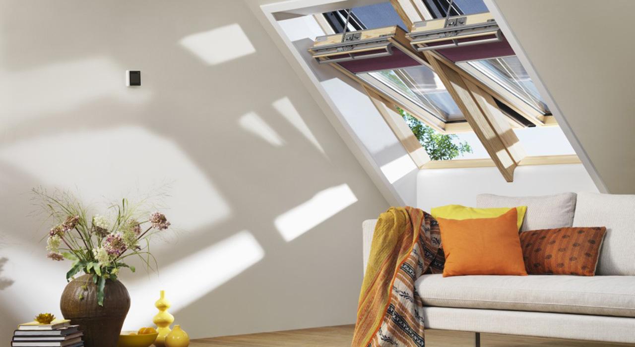 Dachausbau Ideen F R Wohnzimmer Velux Dachfenster