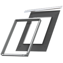 VELUX Dachfenster Dämmung Illustration