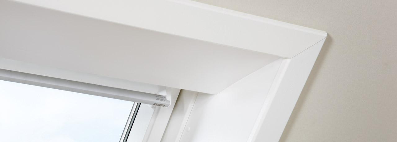 Wandverkleidung innen f r dachfenster velux - Dachfenster innenfutter rigips ...