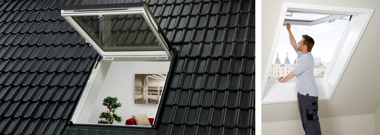 velux ausstiegsfenster f r den problemlosen ausstieg aufs dach. Black Bedroom Furniture Sets. Home Design Ideas