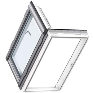 VELUX Wohn- und Ausstiegsfenster Türfunktion Illustration
