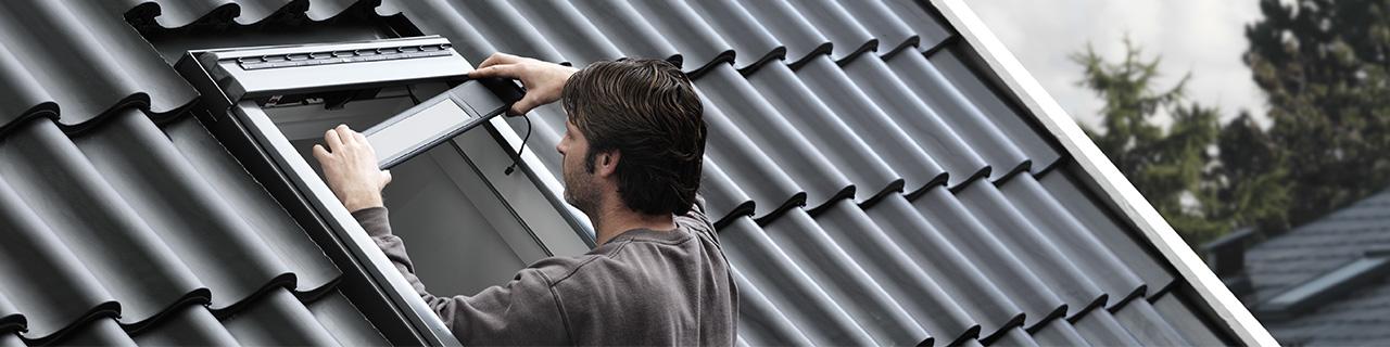 Velux integra dachfenster solarfenster mit fernbedienung - Velux fenster einstellen ...