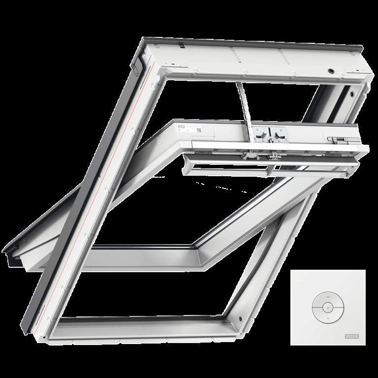 velux integra system hausautomation mit funk. Black Bedroom Furniture Sets. Home Design Ideas