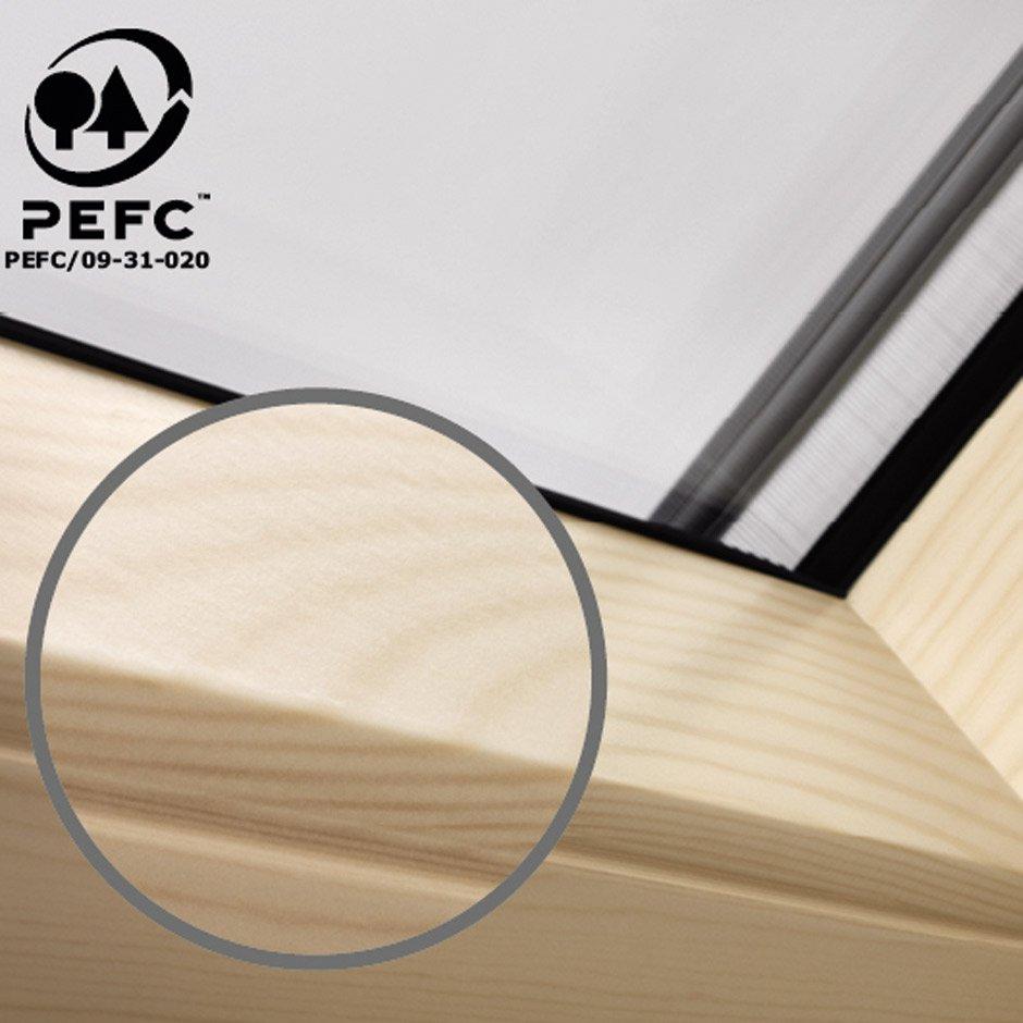 VELUX Schwingfenster im Detail | Mit Obenbedienung