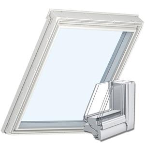 VELUX Dachfenster mit 5-fach-Verglasung für Passivhäuser - Illustration