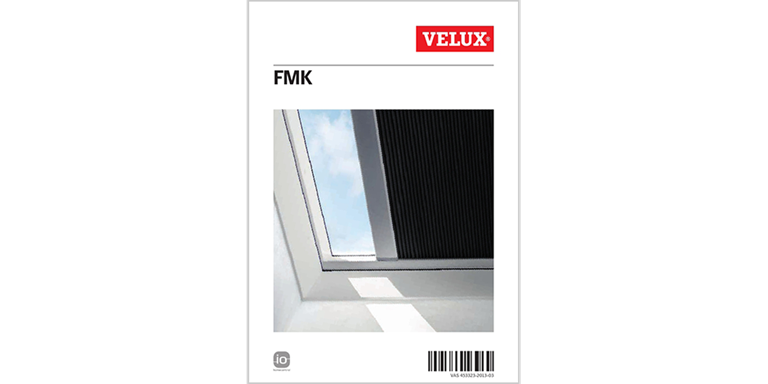 velux plissees faltstore f r flachdachfenster dekorativ. Black Bedroom Furniture Sets. Home Design Ideas