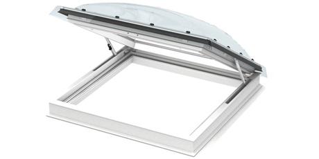 VELUX Flachdach-Fenster Ausstiegsfenster Illustration
