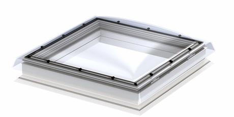 VELUX Flachdach-Fenster fest verglast Illustration