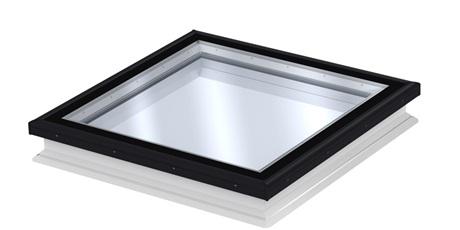 VELUX Flachdachfenster mit Flachglas - Illustration