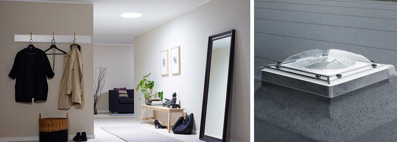 velux tageslichtspot die tageslichtlampe f r ihr zuhause. Black Bedroom Furniture Sets. Home Design Ideas