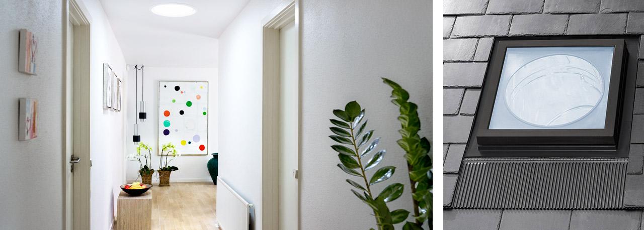 velux tageslichtspot tageslichtlampe f r ihr zuhause. Black Bedroom Furniture Sets. Home Design Ideas