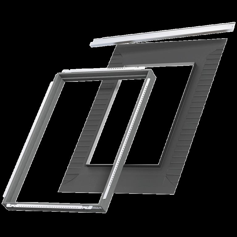 velux dachfenster innenfutter velux social media newsroom velux fachkunden eindeckrahmen f r. Black Bedroom Furniture Sets. Home Design Ideas