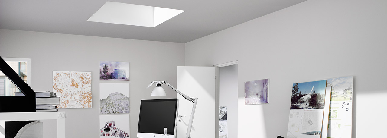 velux plissees faltstore f r flachdachfenster dekorativ. Black Bedroom Furniture Sets. Home Design Ideas