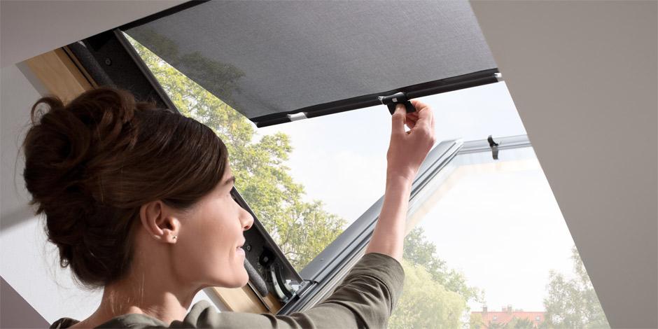 velux dachfenster rollo reparieren with velux dachfenster. Black Bedroom Furniture Sets. Home Design Ideas